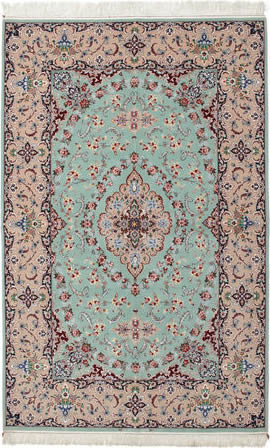 Teppich Isfahan khonsari caucasian nomad tibetian carpets and rugs
